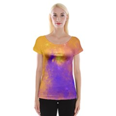 Colorful Universe Women s Cap Sleeve Top by designworld65