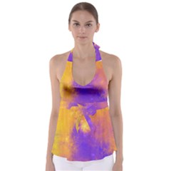 Colorful Universe Babydoll Tankini Top by designworld65