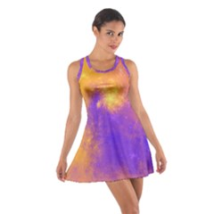 Colorful Universe Cotton Racerback Dress by designworld65