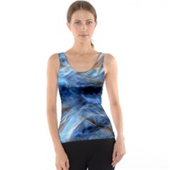 Blue Colorful Abstract Design  Tank Top by designworld65