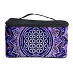 Flower Of Life Indian Ornaments Mandala Universe Cosmetic Storage Case