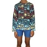 Block On Block, Aqua Kids  Long Sleeve Swimwear