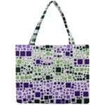 Block On Block, Purple Mini Tote Bag