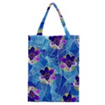 Purple Flowers Classic Tote Bag