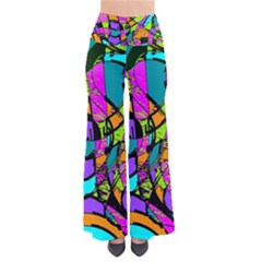 Abstract Sketch Art Squiggly Loops Multicolored Pants by EDDArt
