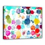 Colorful Diamonds Dream Canvas 20  x 16