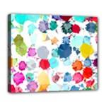 Colorful Diamonds Dream Deluxe Canvas 24  x 20