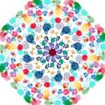 Colorful Diamonds Dream Hook Handle Umbrellas (Medium)