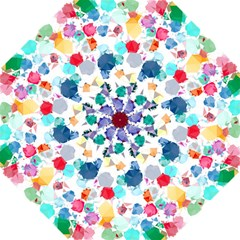 Colorful Diamonds Dream Hook Handle Umbrellas (large) by DanaeStudio