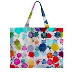Colorful Diamonds Dream Mini Tote Bag by DanaeStudio