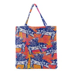 Little Flying Pigs Grocery Tote Bag by DanaeStudio