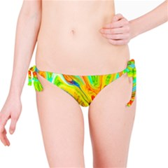 Happy Multicolor Painting Bikini Bottom by designworld65