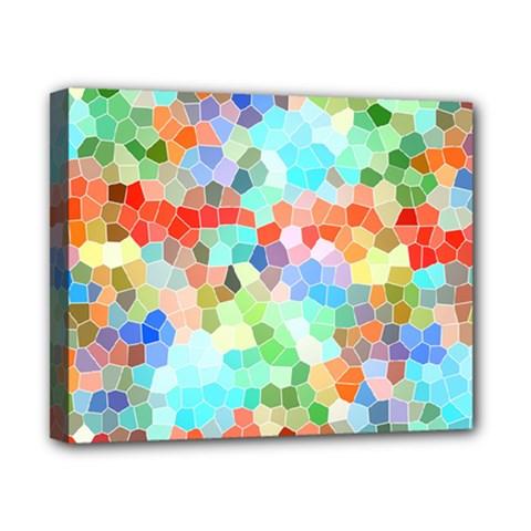 Colorful Mosaic  Canvas 10  X 8  by designworld65