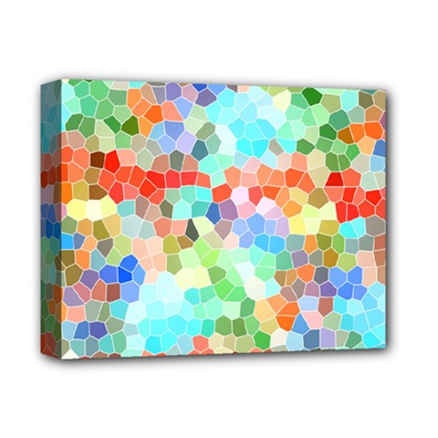 Colorful Mosaic  Deluxe Canvas 14  X 11  by designworld65
