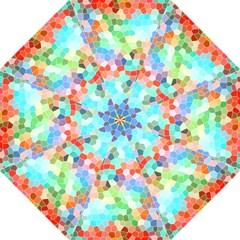 Colorful Mosaic  Golf Umbrellas by designworld65