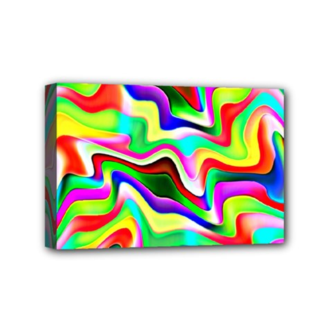 Irritation Colorful Dream Mini Canvas 6  X 4  by designworld65
