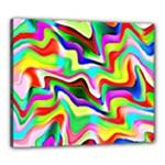 Irritation Colorful Dream Canvas 24  x 20