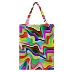 Irritation Colorful Dream Classic Tote Bag by designworld65