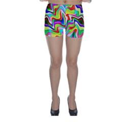 Irritation Colorful Dream Skinny Shorts by designworld65