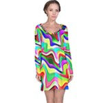 Irritation Colorful Dream Long Sleeve Nightdress