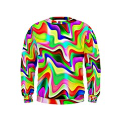 Irritation Colorful Dream Kids  Sweatshirt by designworld65