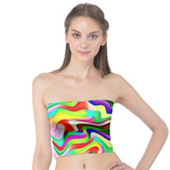 Irritation Colorful Dream Tube Top by designworld65