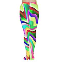 Irritation Colorful Dream Women s Tights by designworld65