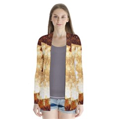 Sparkling Lights Drape Collar Cardigan by yoursparklingshop