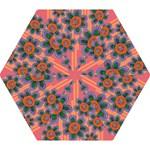 Colorful Floral Dream Mini Folding Umbrellas