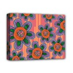 Colorful Floral Dream Deluxe Canvas 14  x 11