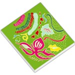 Green Organic Abstract Small Memo Pads