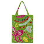 Green Organic Abstract Classic Tote Bag