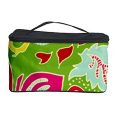 Green Organic Abstract Cosmetic Storage Case by DanaeStudio