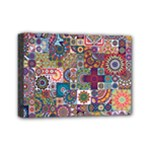 Ornamental Mosaic Background Mini Canvas 7  x 5