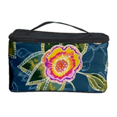 Floral Fantsy Pattern Cosmetic Storage Case by DanaeStudio