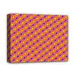 Vibrant Retro Diamond Pattern Deluxe Canvas 14  x 11