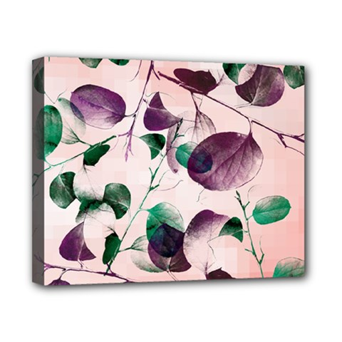 Spiral Eucalyptus Leaves Canvas 10  X 8  by DanaeStudio