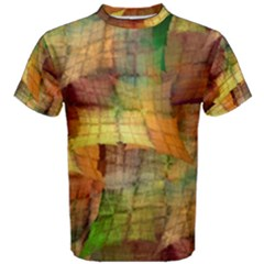 Indian Summer Funny Check Men s Cotton Tee by designworld65