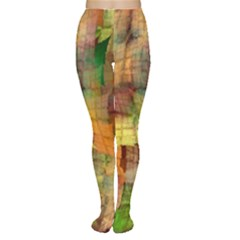 Indian Summer Funny Check Women s Tights by designworld65