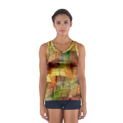 Indian Summer Funny Check Women s Sport Tank Top  by designworld65
