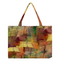 Indian Summer Funny Check Medium Tote Bag by designworld65