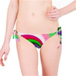 Colorful Spiral Dragon Scales   Bikini Bottom