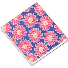 Pink Daisy Pattern Small Memo Pads by DanaeStudio