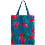 Carnations Zipper Classic Tote Bag