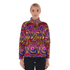 Abstract Shimmering Multicolor Swirly Winterwear by designworld65