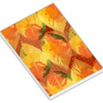 Fall Colors Leaves Pattern Large Memo Pads
