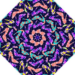 Colorful High Heels Pattern Golf Umbrellas by DanaeStudio