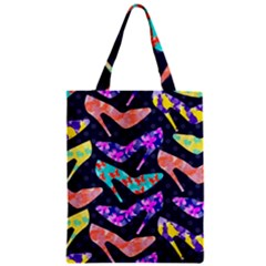 Colorful High Heels Pattern Classic Tote Bag by DanaeStudio