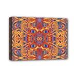 Oriental Watercolor Ornaments Kaleidoscope Mosaic Mini Canvas 7  x 5