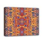 Oriental Watercolor Ornaments Kaleidoscope Mosaic Canvas 10  x 8